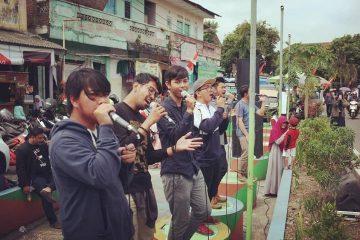 Nasyid Jogja Ngamel Ngamal 3 Peduli Lombok